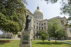 Capitali dello Stato della Georgia Fotografia Stock Libera da Diritti