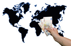 Capitalism and world power Royalty Free Stock Photography