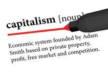 Capitalismo ilustración del vector