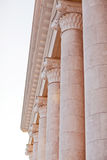 Capitals of the columns State opera and ballet theatre Stock Photography