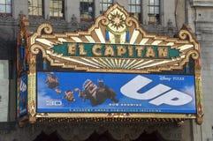 capitan кино el вверх Стоковые Фото