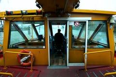 Capitan лодки на работе Стоковое Изображение RF