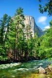 capitan национальный парк yosemite el стоковое фото