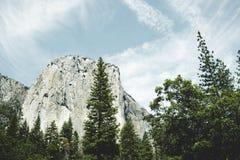 capitan утес el Естественная привлекательность национального парка Yosemite, Калифорнии, США Стоковое Изображение RF
