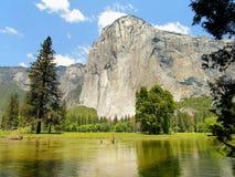 capitan EL Κοιλάδα Yosemite, Καλιφόρνια Στοκ Εικόνες