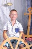 Capitan jongen - Royalty-vrije Stock Foto's