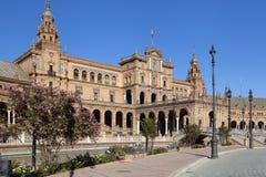 Capitania, Plaza de Espana, Σεβίλη, Ισπανία, 2013 στοκ φωτογραφίες με δικαίωμα ελεύθερης χρήσης