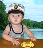 Capitano Fotografia Stock