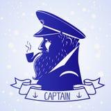 Capitano Fotografia Stock Libera da Diritti