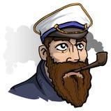 capitano Royalty Illustrazione gratis