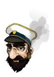 capitano Illustrazione Vettoriale