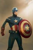Capitano America Figurine Immagini Stock