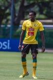 Capitano del gruppo di Bafana Bafana Fotografia Stock Libera da Diritti