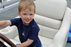 Capitano della barca 2 Immagini Stock Libere da Diritti