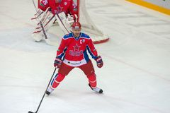Capitano Denis Denisov (6) Fotografia Stock Libera da Diritti