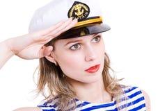 Capitano di mare Fotografie Stock