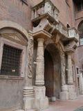 The capitano palace in Verona in Italy Royalty Free Stock Photos