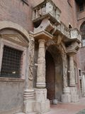 The capitano palace in Verona in Italy Royalty Free Stock Photos