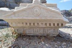 Capitel της στήλης Στοκ Φωτογραφία