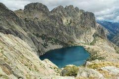 Capitellu lake, Corsica Stock Image