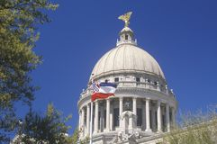 Capitólio do estado de Mississippi, Imagem de Stock Royalty Free