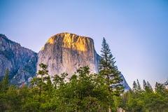 Capitán Yosemite del EL Foto de archivo libre de regalías