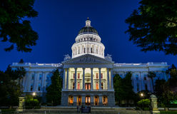 Capitol à Sacramento, la Californie images stock