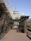 capitol Ινδιανάπολη οικοδόμηση Στοκ Εικόνα