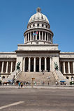 capitol Κούβα Αβάνα Στοκ εικόνα με δικαίωμα ελεύθερης χρήσης