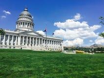 Capitol που χτίζει τη Σωλτ Λέικ Σίτυ, Γιούτα Στοκ φωτογραφίες με δικαίωμα ελεύθερης χρήσης