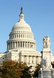 The Capitol. The US Capitol on a Fall day Royalty Free Stock Photography