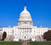 The Capitol. Very detailed view of beautiful landscape Stock Photo