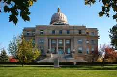 The Capitol. The Boise, Idaho state capitol building Royalty Free Stock Photography