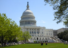 The Capitol. Front of the US Capitol Building Royalty Free Stock Images