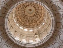 Capitol av den Texas kupolen Royaltyfri Fotografi