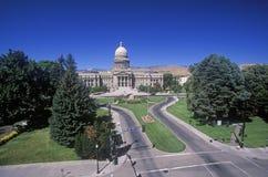 Capitol av Idaho Arkivfoto