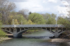 Capitol Blvd Bridge - Boise, Idaho Royalty Free Stock Image