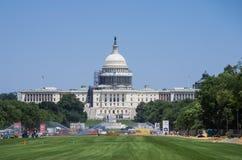 Capitol Budować w budowie Zdjęcie Royalty Free