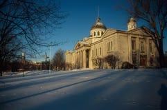 Capitol budynek w Kington DALEJ zdjęcia royalty free