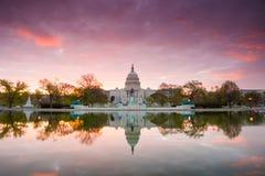 Capitol budynek w washington dc obraz stock