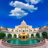 Capitol budynku washington dc usa kongres obrazy royalty free