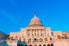 Capitol budynku washington dc USA kongres zdjęcie stock
