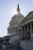Capitol Buidling στην Ουάσιγκτον, συνεχές ρεύμα Στοκ εικόνα με δικαίωμα ελεύθερης χρήσης