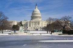 The Capitol Building Royalty Free Stock Photo