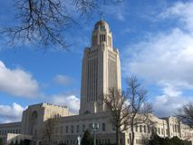 Capitol Building. Nebraska State Capitol Building Royalty Free Stock Images
