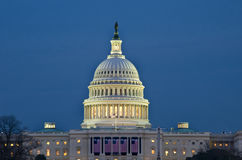 Capitol Building. Beautiful image of Capitol building at night, Washington DC Stock Photos