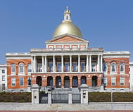 Capitol Building, Boston, Massachussets Stock Images