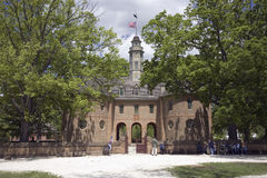 The Capitol Building of Colonial Williamsburg, Stock Photography