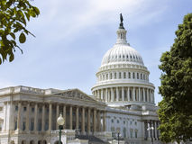 Capitol building and Congress Library royalty free stock photography