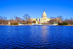 Capitol Building at Day, Washington DC Royalty Free Stock Image